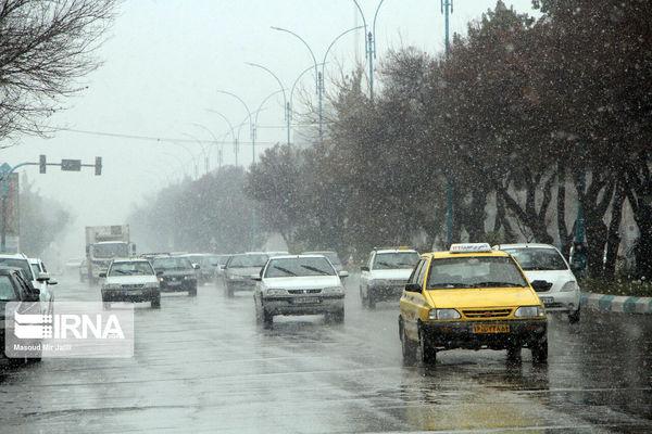 پیش بینی بارش برف و باران در استان تهران