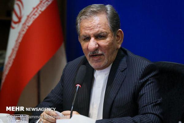 جهانگیری: آمریکا زندگی اقشار آسیب پذیر ایران را هدف گرفته است