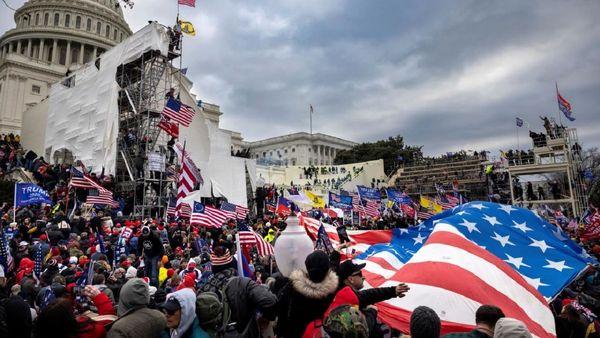 شناسایی ۱۸۹ نفر از متهمان حمله به کنگره آمریکا