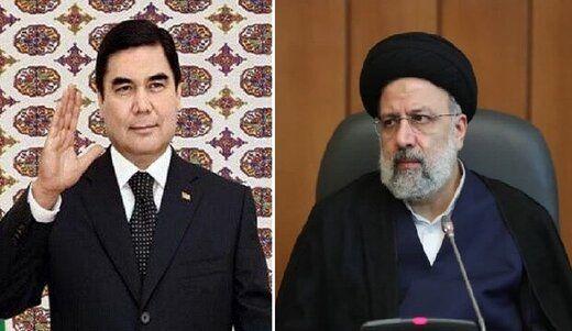 دعوت رئیسجمهور ترکمنستان از ابراهیم رئیسی برای شرکت در اجلاس سران «اکو»