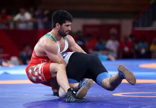 حذف کشتیگیر ایران از رقابتهای کشتی فرنگی قهرمانی جهان
