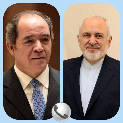 جزئیات تماس تلفنی ظریف با وزیرخارجه الجزایر