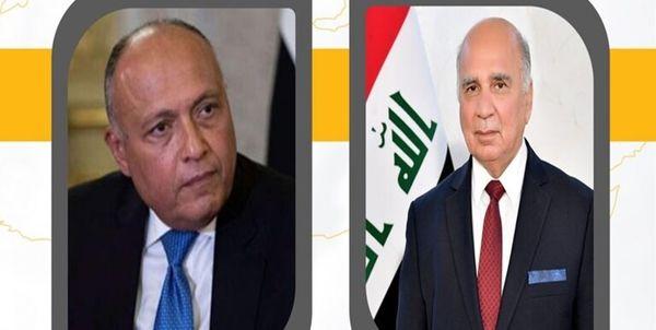 بررسی حل سیاسی بحران سوریه از سوی وزیران خارجه عراق و مصر