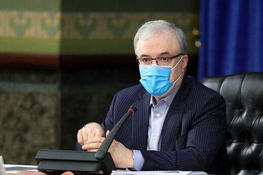 خبر تلخ وزیر بهداشت از خیز سنگین کرونا!+ فیلم