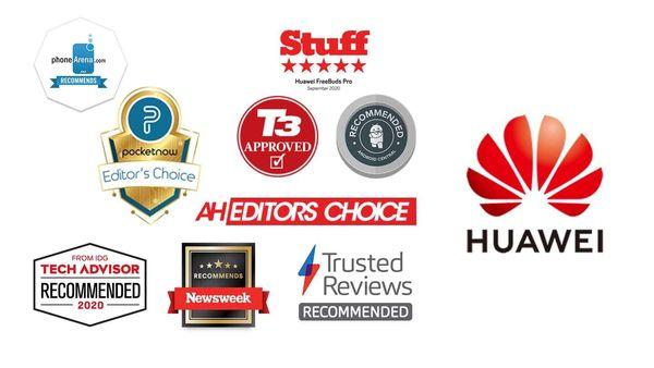 هوآوی ۲۰ جایزه معتبر برای محصولات صوتی و پوشیدنی دریافت کرد