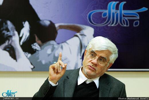 عارف: عدم حضور در انتخابات، آب ریختن به آسیاب دشمن است