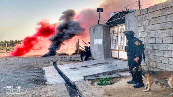دفع حمله انتحاری عناصر تروریستی داعش در عراق