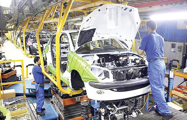 رشد تورم فصلی و سالانه خودرو