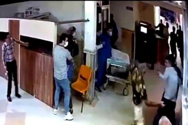 جزییات حمله اراذل و اوباش به اورژانس بیمارستان پورسینا