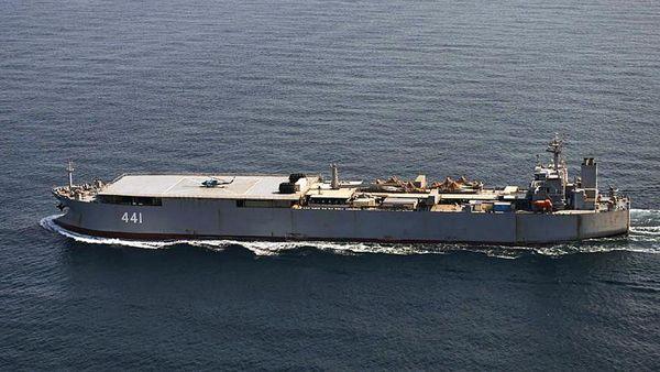 نیروی دریایی دانمارک: ناوشکن سهند در دریای بالتیک حضور دارد
