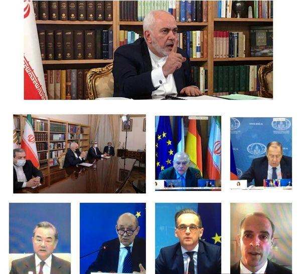 بیانیه مشترک وزرای خارجه کشورهای عضو برجام