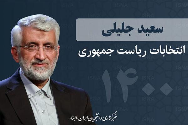 یکی از اولویتهای سعید جلیلی از زبان رئیس ستاد انتخاباتیاش