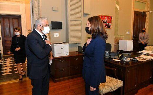 جزئیات دیدار معاون بایدن با وزیرخارجه اسرائیل
