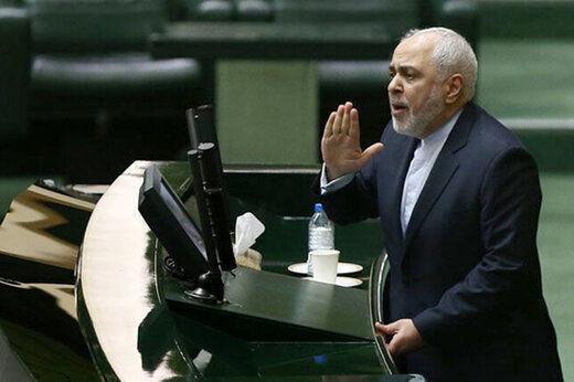 متن و حاشیه حضور ظریف در صحن مجلس /بهارستانی ها در حمله به وزیرخارجه کم نگذاشتند