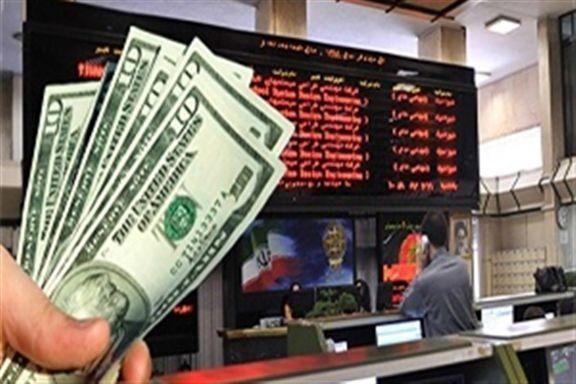 بررسی تاثیر قیمت دلار بر بورس