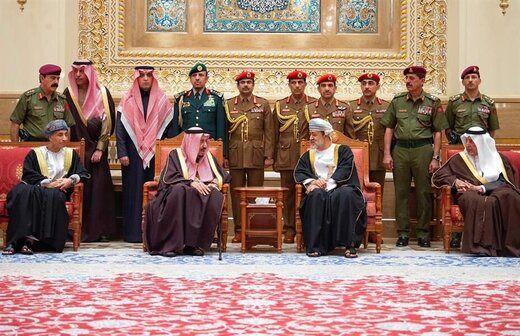 دیدار سلطان عمان با شاه سعودی در اوج ناآرامیهای منطقه