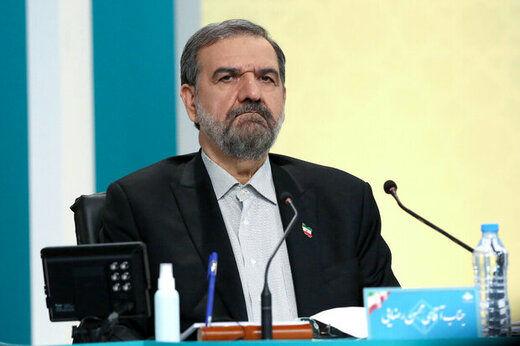 توئیت محسن رضایی بعد از دیدار با رئیسی و دیگر رقبایش