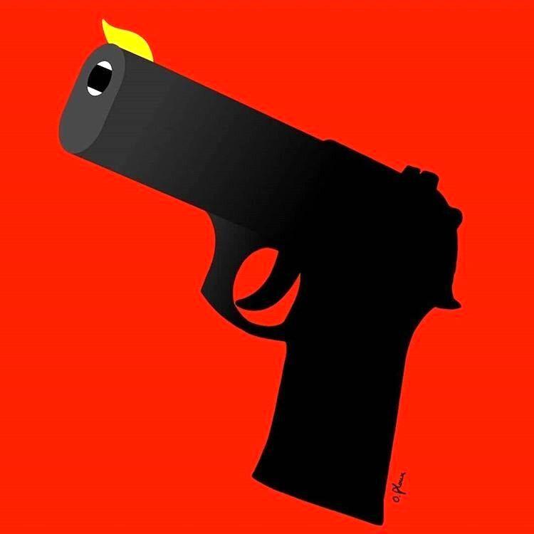 آلت جرم کشتار اخیر در آمریکا رو ببینید!