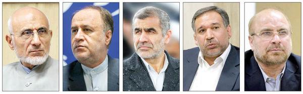 شطرنج قالیباف با احمدینژادیها