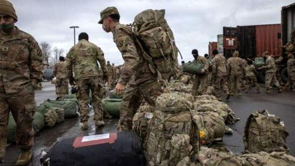 خروج گروهی از نیروهای آمریکا از اربیل به مقصد شمال سوریه