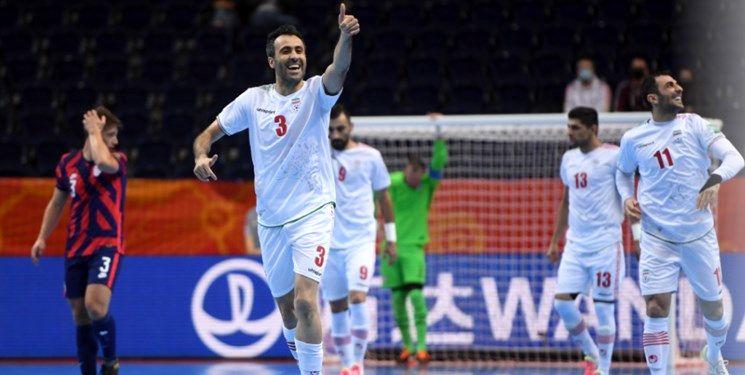 جام جهانی فوتسال  پیروزی تیم ملی فوتسال مقابل ازبکستان در یک جدال نفس گیر/ باز هم VAR به کمک ایران آمد