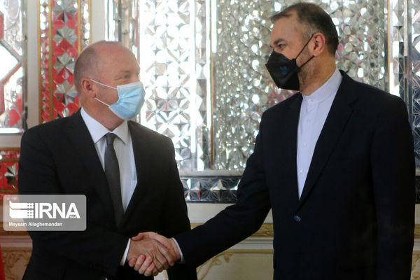 دیدار رییس مجلس سوییس با امیرعبداللهیان