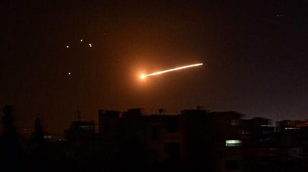مقابله پدافند هوایی ارتش سوریه با تجاوزات رژیم صهیونیستی