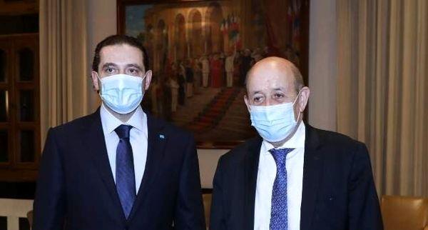 وزیر خارجه فرانسه با حریری دیدار کرد