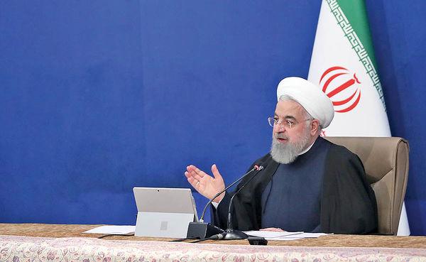 روحانی: اگر یکصدا باشیم زودتر به پایان جنگ اقتصادی میرسیم