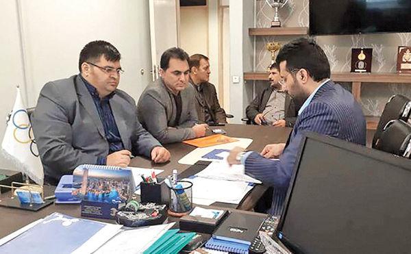 ورود رسمی رضازاده به انتخابات