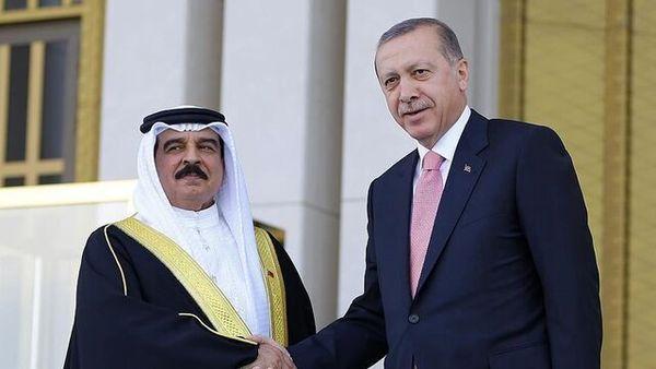 رایزنی تلفنی اردوغان و پادشاه بحرین