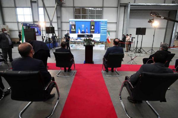کارخانه لوازم خانگی مادیران توسط رئیس جمهور افتتاح شد