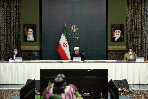 روحانی: مردم از فردا آماده سختگیری بیشتر باشند/ اجرای طرح فاصلهگذاری اجتماعی/ شاید همه پارکها بسته شوند/ از موج اول بیماری کرونا عبور کردهایم
