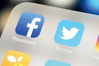 کاهش ۵۱ میلیارد دلاری ارزش  فیسبوک و توییتر