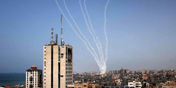 انتقام سخت مقاومت/ شلیک ۱۳۰ موشک به شهرکهای صهیونیست نشین