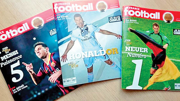 حمله کرونا به مجله معروف فوتبال