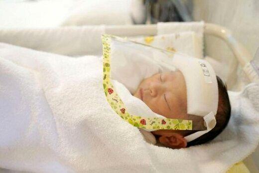 ابتلای یک نوزاد به بیماری قلبی پس از ابتلا به کرونا