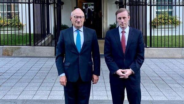 جیک سالیوان با سفیر فرانسه دیدار کرد