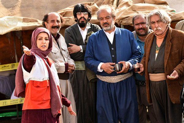 نخستین عکس از شقایق دهقان در سریال سعید آقاخانی