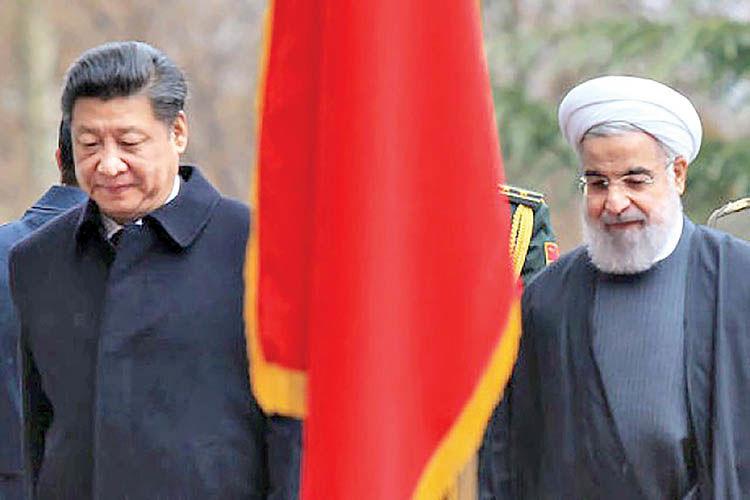 جایگاه ایران در طرح کمربند-راه