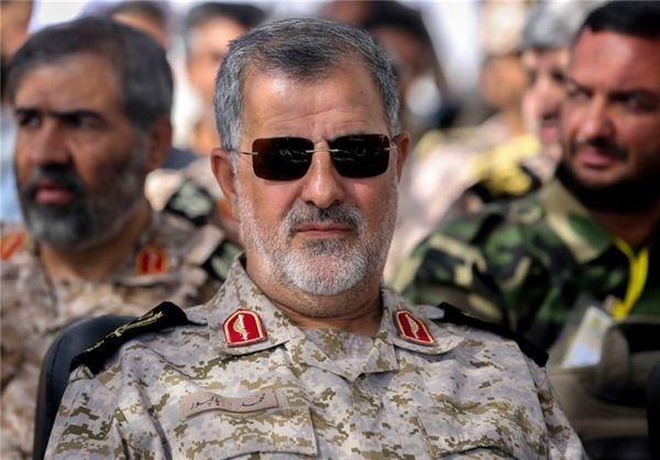 سردار پاکپور: نسبت به امنیت ایران با کسی تعارف نداریم
