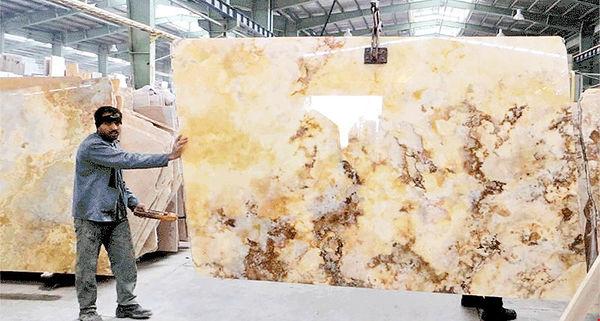 کاهش صادرات سنگهای فرآوری شده