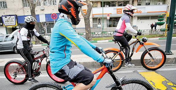 تردد بیش از3000 دوچرخهسوار با مترو