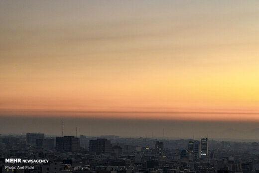 مشاهده آلودگی در این مناطق تهران
