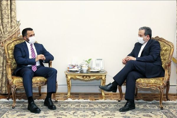 رایزنی معاون وزیر امور خارجه افغانستان با عراقچی