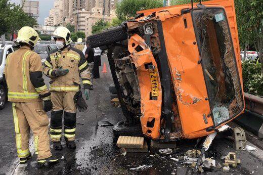 کدام مناطق پایتخت بیشترین میزان تصادفات را دارد؟