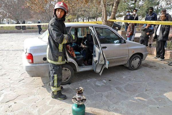 مرگ جوان مشهدی به دلیل گازگرفتگی در خودرو