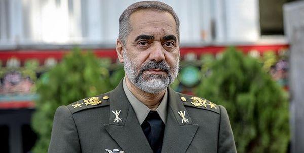 راهبرد اصلی وزارت دفاع از زبان امیر آشتیانی