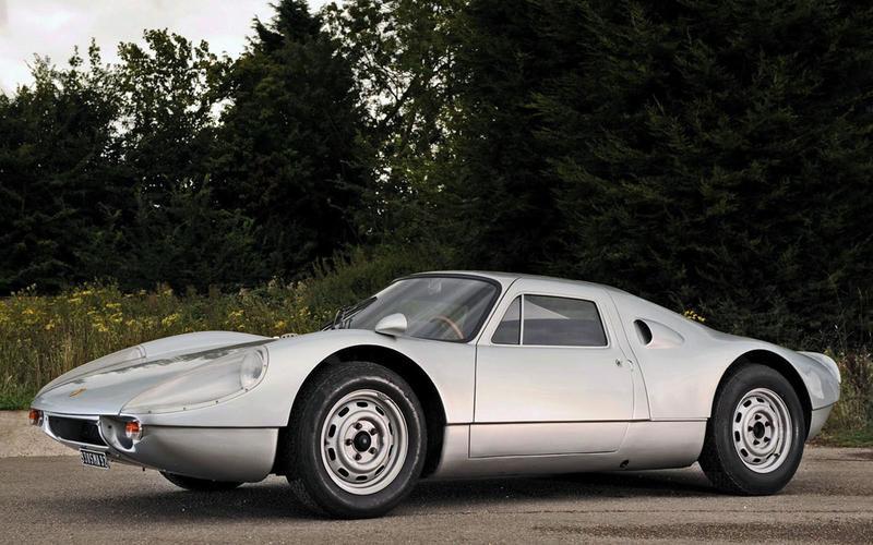 نبوغ پورشه؛ اتومبیل 904 GTS سال ۱۹۶۴