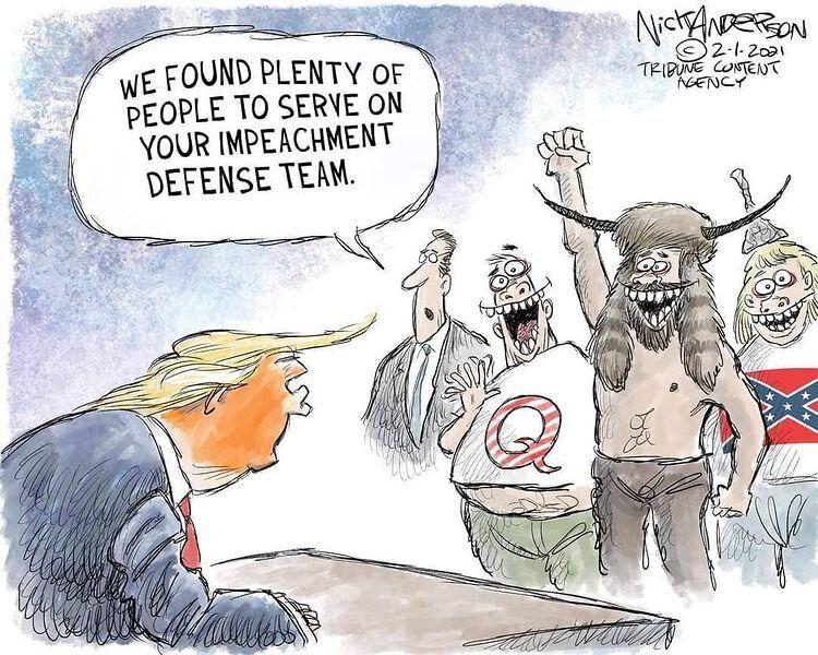 تیم حمایتی ترامپ در برابر استیضاح را ببینید!